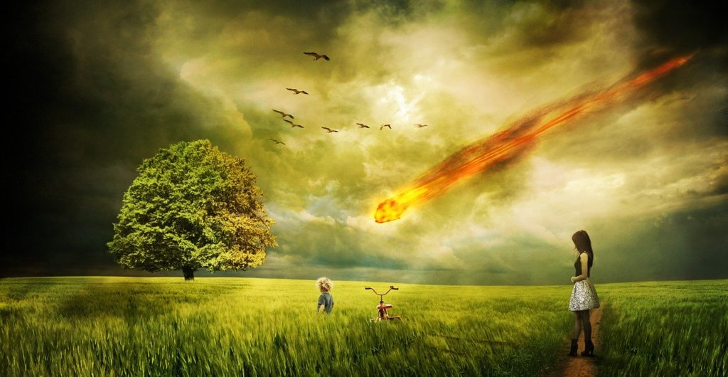 人間はいつ死んでもおかしくない。例えば隕石とか。